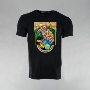 Black Luchador! Mexican Wrestling Dice t-shirt. Will be shipped within 5 working days of order. Washing Instructions - Machine wash warm, inside-out with like colours. Do not iron over pattern. Do not dry clean.""