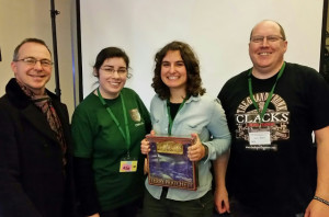 Clacks Release Winner at IDWCon2015