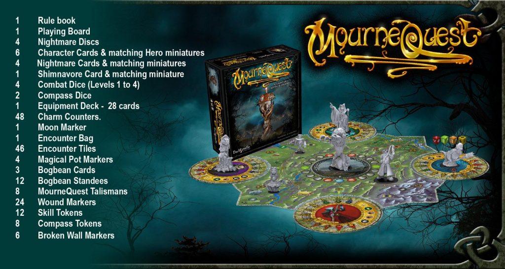 MourneQuest board