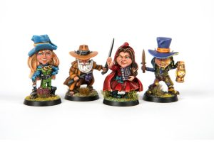 Painted Irish Miniatures