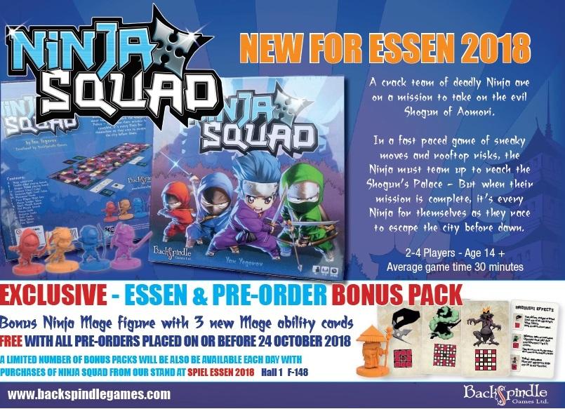 Ninja Squad Pre Order Special