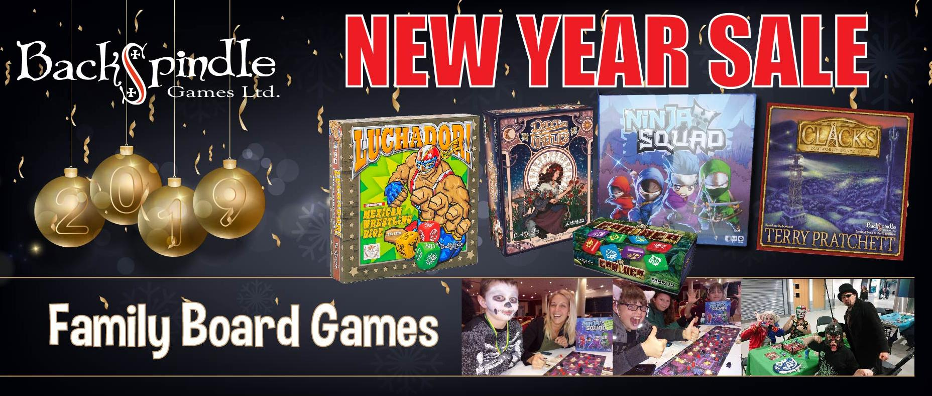 New Year Family Boardgame Sale Now on ALL Games ( 30 Dec - 3 Jan )