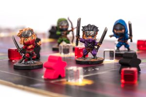 Painted Ninja Miniatures