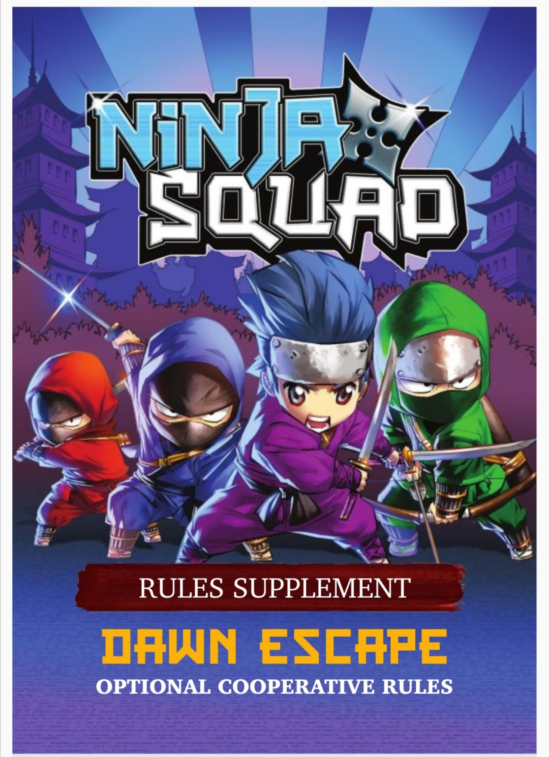 Ninja Squad cooperative rules